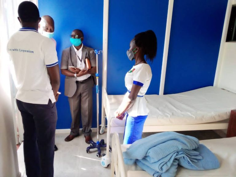 Dr. George, the Supervising Specialist speaking to the Medical Team