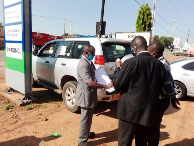 Ministry of Health Team Inspecting Barry Medical Center